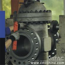 Motor / Elektrisch / Pneumatik / Gas / Hydraulisch / Flüssig-Bramme Durchführungs-Schieberventil