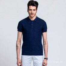 100% algodão mercerizado camisa pólo homens camisola