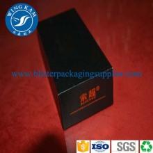 Black Paper Cardboard Box Packaging