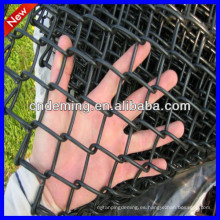 Cubierto de polvo Valla de enlace de cadena para canchas deportivas / cancha de tenis