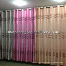 Mode dekorative Vorhang Stoff mit Feder