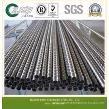 T304, 304L & T316, 316L tubo de aço inoxidável sem costura