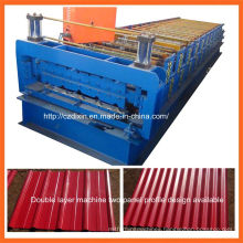 Dx Double Layer Roll Forming Machine for Corrugated Roof Sheet