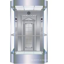 OTSE panorama ascensores con coches de vidrio Ascensor coche decoración