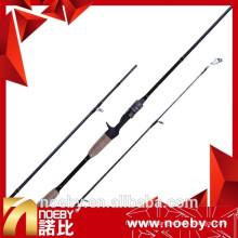Vara de pesca chinesa de 99% carbono rápida Vara de baixo de Noeby