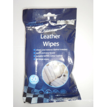 60PCS Cleaning and Restores Leather Wipes