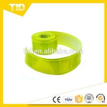 "2"" WIDTH YELLOW GREEN REFLECTIVE & FLUORESCENT PVC GLOSS TAPE (CHOOSE LENGTH)"