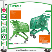 New Supermarket Full Plastic Trolley