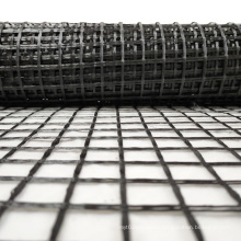 Non self adhesive 50kn fiberglass geogrid prices geogrid production machine