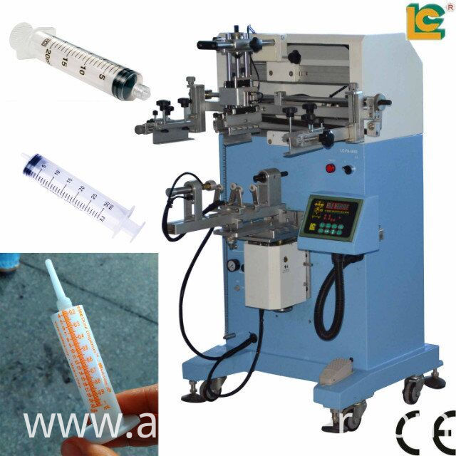 medical Syringe tube screen printing machine LC-PA-300E