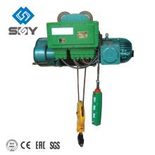 Polipasto de tracción de 16-100t HC cable eléctrico del motor