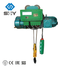16-100t HC electric wire rope motor pulling hoist