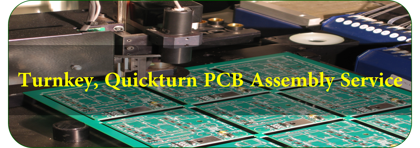 Turnkey, Quickturn PCB Assembly Service