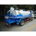 Dongfeng mini agua rociando el carro, 4-5CBM Perú camión de agua