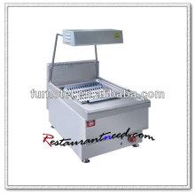 Poste de travail de machine de friteuse électrique française de K410
