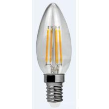 Filamento de LED luz C30-Cog 4W 400lm E14 4PCS filamento
