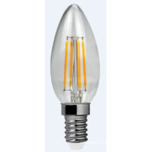 LED Filament Light C30-Cog 4W 400lm E14 4PCS Filament