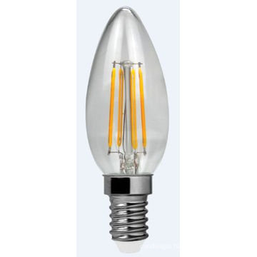 LED Filament Light C30-Cog 4W 400lm E14 4PCS Filament