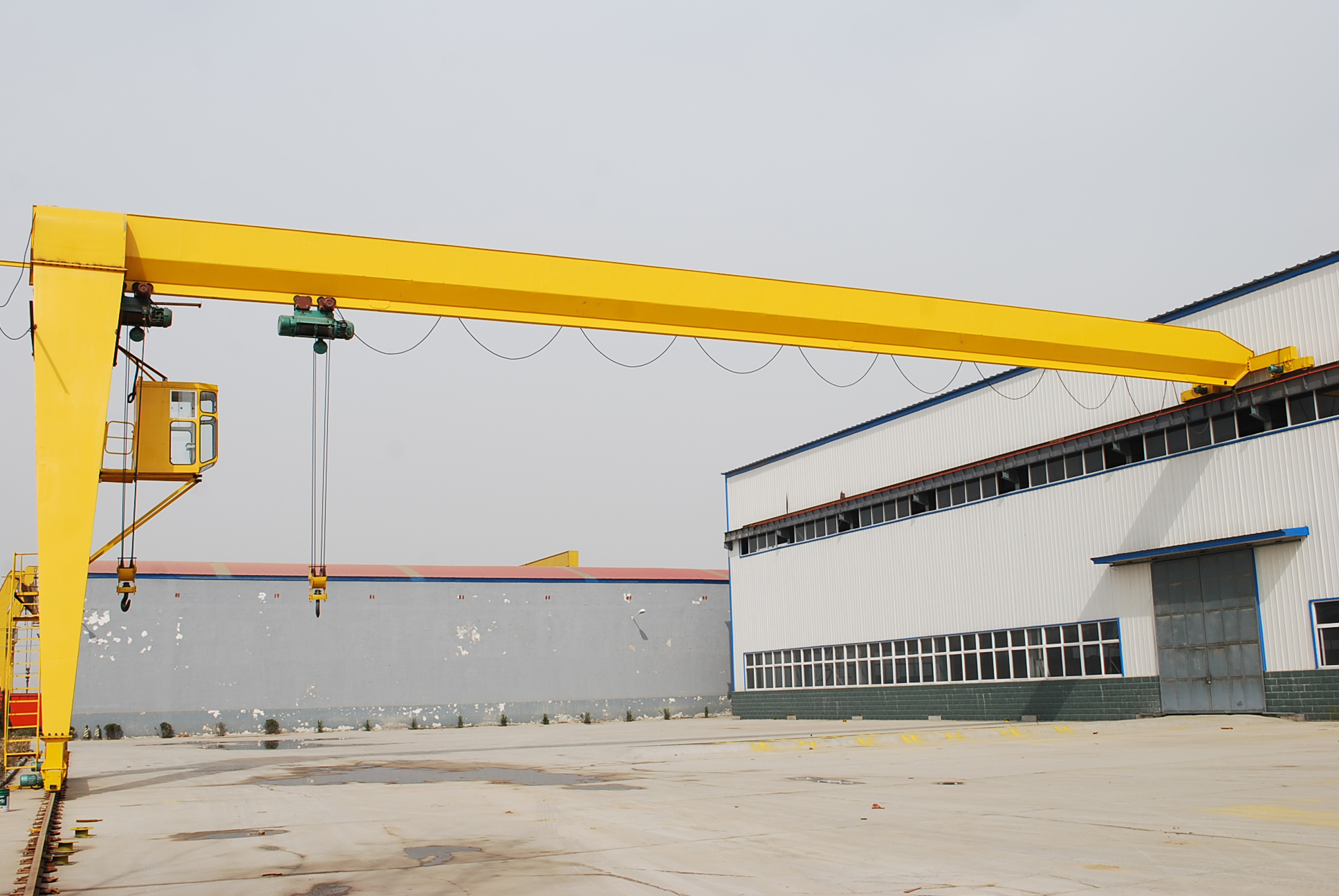 5T Single Girder Gantry Crane