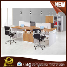 American style hot selling work station design for four person