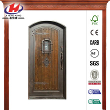 Bronze Right-Hand Prehung Front Door