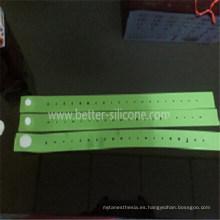 Torniquete de plástico elastomérico desechable de grado médico