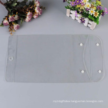 Reusable clear stand up pvc bag, cosmetic bag for promotion