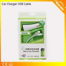 Câble USB Mini USB de trois poches / Chargeurs universels pour voiture WF-132