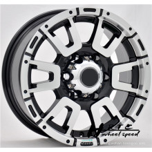 New!2014 new design black/chrome aftermarket suv wheels