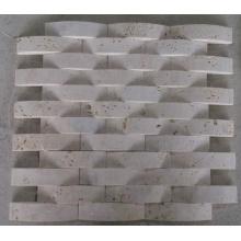 Bogen Mosaik Fliese Stein Marmor Mosaik (HSM227)