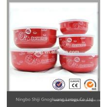 coconut shell enamel salad bowl sets