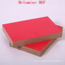 Rotes Melamin MDF