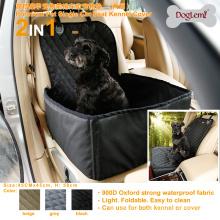 Couverture de couverture de siège de voiture de chien d'animal familier