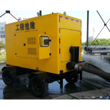 Diesel Silent Trash Water Trailer Pump