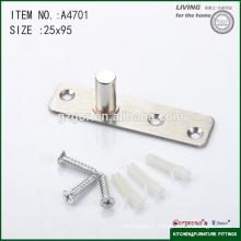 95*25mm three-screw glass door central axis