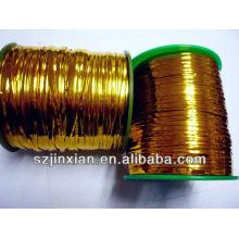 corbata de alambre de metal dorado en SW