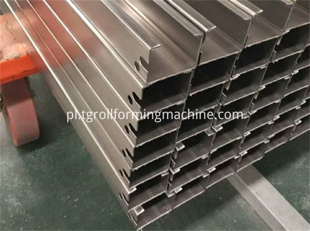 Elevator Parts Guide Rail Forming Machine