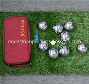 eight bocce ball set