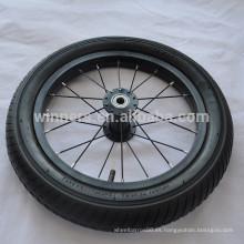 """Ruedas de aleación de aluminio de bicicleta negra de 14 """"x1.95"""""""