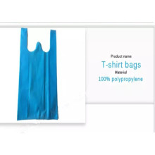 T-shirt Spunbond Nonwoven Vest Handle Bags