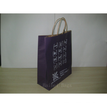 150GSM Kraft Paper Promotional Bag with Twist Paper Handles (hbpb-69)