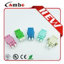 Hecho en China libre de la muestra duplex LC fibra óptica adaptador