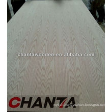 1220x2440x17mm double red oak veneer face fancy MDF board