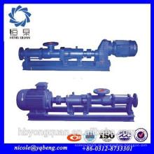 Industrielle Gute Qualität Energie sparen Schlamm Schraube Pumpe
