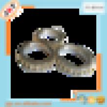 24k Luxuxdiamantvorhangringclip, königlicher Vorhangentwurf