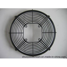 PVC beschichtetes galvanisiertes Chrom geschweißter Draht-axialer / Abluftventilator-Grill-Schutz