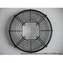 Le fil galvanisé par PVC galvanisé a soudé la garde axiale de gril de ventilateur / d'échappement de fil