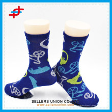 2015 Custom Teen Anlimal Pattan Muticolour Causal Tube Cotton Soft Socks