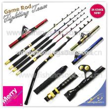 GMR094 solid fiberglass trolling rod pole rod