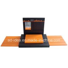 Acryl-Uhren-Display, Acryl-Messestand für Uhr